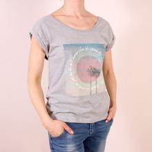 Roxy T-Shirt Photogenic Between Palms - Heritage Heather