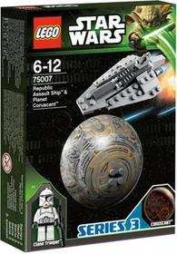 LEGO Star Wars Republic Assault Ship i Coruscant 75007
