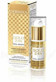 Dermika Gold 24K Luksusowy krem do skóry wokół oczy Esencja młodości 15ml
