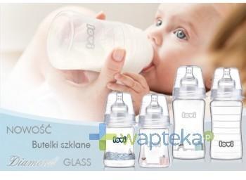 Lovi Butelka niemowlęca 250ml Diamond Glass 74/200