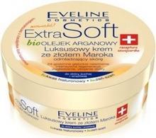 Eveline Extra Soft Bio Olejek Arganowy Luksusowy Krem Ze Złotem Maroka 200ml