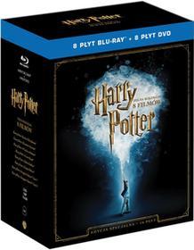 Harry Potter Pełna Kolekcja 8 Filmów Edycja specjalna Blu-Ray) Chris Columbus Alfonso Cuaron Mike Newell David Yates