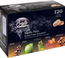 Bradley Brykiet drzewny Smoker - Variety Pack120szt.