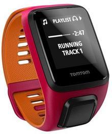 TomTom Runner 3 Cardio + Music S Różowy