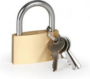 B2B Partner Kłódka na klucz 40 mm 442001