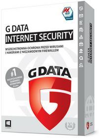 GData Internet Security 2016 (3 stan. / 1 rok) - Nowa licencja