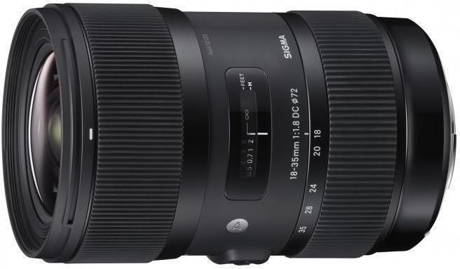 Sigma 18-35mm f/1.8 A HSM DC Nikon