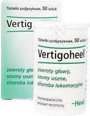 Heel Vertigoheel-zawroty głowy 30 ml