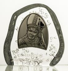 Crystal Julia Przycisk kryształowy Jan Paweł II i grawer 3976)