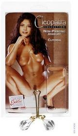 California Exoticnovelties Cleopatra Clit Chrystal Clear