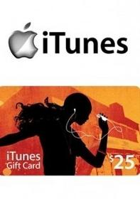 iTunes 25 USD GIFT CARD PREPAID US