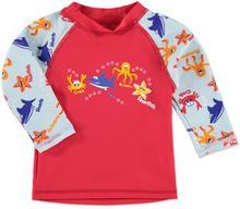 anna & tom anna & tom Boys Koszulka kąpielowa Zwierzątka kolor czerwono-nieb
