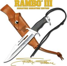 USA MINIATUROWY NÓŻ Z FILMU RAMBO III LICENCJONOWANY
