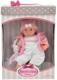 Lalka Bambolina Boutique różowe śpioszki 48 cm -