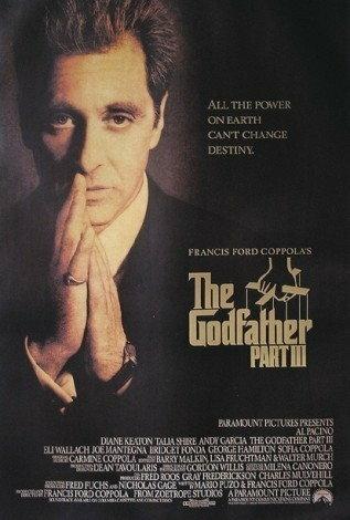 Godfather / Ojciec Chrzestny III - Al Pacino modlący - Plakat