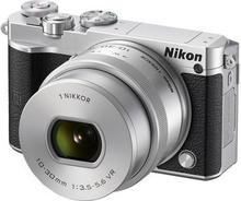 Nikon 1 J5 + 10-30 kit srebrny