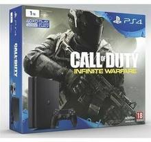 Sony PlayStation 4 Slim 1TB Czarny + CoD Infinite Warfare