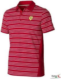 Ferrari F1 Polo Striped - Red