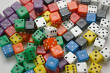 Dice and Games Kość matowa 6 ścian - 7mm