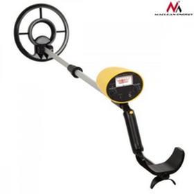 Maclean Wykrywacz metali z dyskryminatorem Energy MCE991 żółty