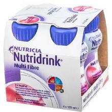 N.V.Nutricia Nutridrink Multi Fibre truskawka 4x125 ml 8425541
