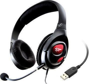 Creative Fatality Gaming HS-1000 czarne