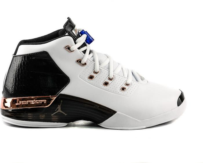 release date 59c5b cc72c Nike Air Jordan 17 + Retro Copper 832816-122 biało-czarny - Ceny i opinie  na Skapiec.pl