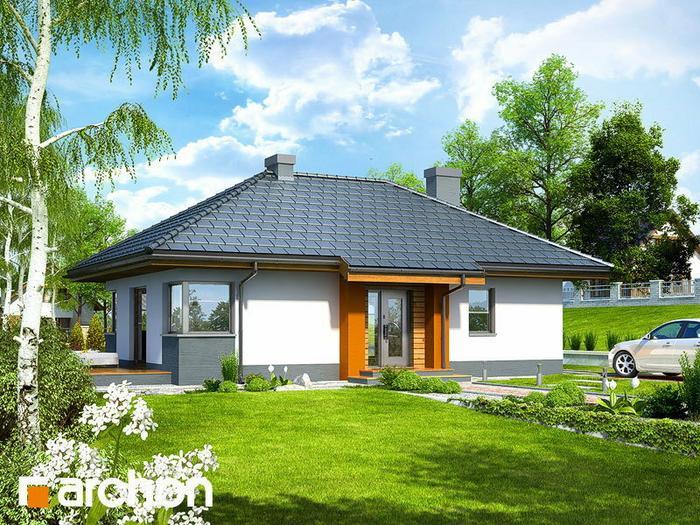 Archon+ Dom w majówkach ver 2 (powierzchnia 68.37 m2)