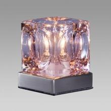 Prezent Lampa stołowa DECORA 1X20W G9 Różowa 536