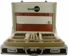 Domotti MARIA Komplet sztućców w aluminiowej walizce, 72 elementy 69806