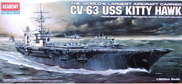Academy CV-63 USS Kitty Hawk 14210