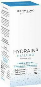 DermedicHYDRAIN 3 Hialuro Krem pod oczy 15ml