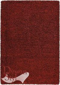 DywanStyl.pl Dywan Super Shaggy czerwony 060x115 prostokąt