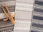 Beliani Dywan brązowy - 160x230 cm - bawełna - handmade - POLATLI