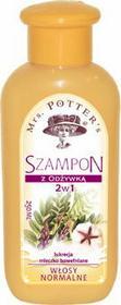 Mrs. Potters Szampon z odżywką 2w1do włosów z ekstraktem z lukrecji i mleczkiem bawełnianym 500ml