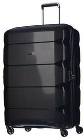 Puccini Duża walizka PP008 A czarny - czarny