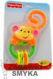Fisher Price Grzechotka Małpka z bananami L0513