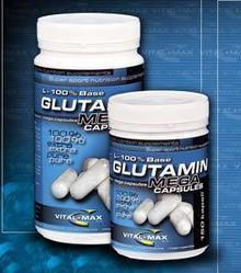 Vitalmax L-glutamina MegaCaps 150 kaps./1000mg