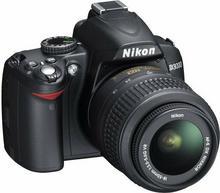 Nikon D3000 + 18-55 VR + 55-200 VR kit