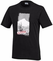 Columbia Sportswear Koszulka T-shirt CSC Crested Range Black (JO1587-010)