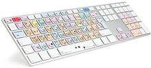 LogicKeyboard Logickeyboard LKB-AM89-UK lgtr6 Adobe Lightroom CC/6 klawiatura Srebrny 5707795011819