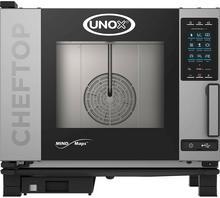 Unox Piec konwekcyjno-parowy 5xGN1/1 ChefTop Plus gazowy system myjący dotykowy ekran 9000562