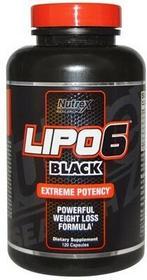 Nutrex Lipo 6 Black Maximum potency 120 kap 008009