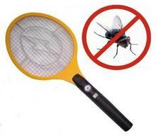 Elektryczna łapka/paralizator zwalczająca wszelkiego rodzaju owady latające
