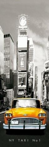 New York (taxi no 1) - plakat