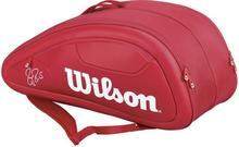 Wilson Federer DNA 12 Pk Bag - red