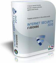 F-Secure Internet Security 2010 (5 stan. / 1 rok) - Nowa licencja