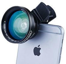 Apexel apexel pokrowiec ochronny 2pokrowiec w kolorze-1zestawów uniwersalny Pro HD obiektyw aparatu obiektyw o szerokim kącie widzenia 0,63X 12,5X Macro obiektyw do smartfona APL-0.63WM