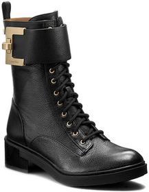 Calvin Klein Botki BLACK LABEL - Skyla E2602 Black skóra naturalna/licowa