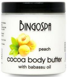 BingoSpa  Brzoskwiniowe masło do ciała z olejem babassu 250g